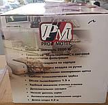 Контейнерный пылесос Promotec 2200W Оригинал, фото 7