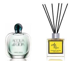 Ароматный диффузор для дома 50 мл, с известным парфюмерным ароматом Acqua di Gioia Giorgio Armani / Аква ди Джоя Армани