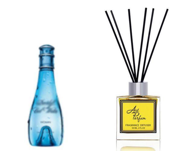 Ароматный диффузор для дома 50 мл, с  парфюмерным ароматом Cool Water( Кул Вотер Давидоф )