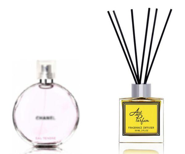 Ароматный диффузор для дома 50 мл, с  парфюмерным ароматом Chance Eau Tendre( Шанс у Тэндр Шанель )