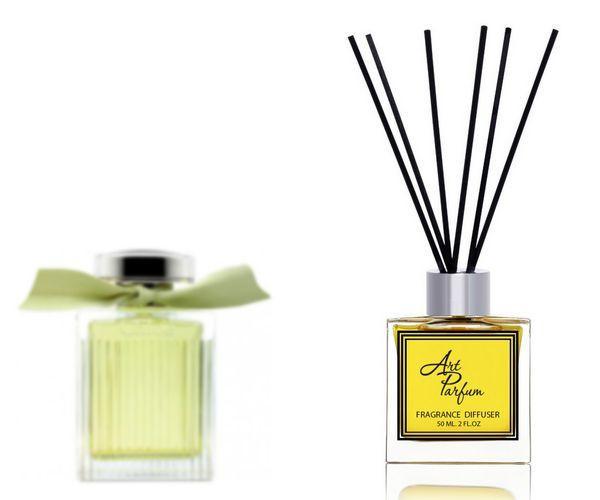 Ароматный диффузор для дома 50 мл, с  парфюмерным ароматом L'Eau de  ( Л'ё дэ Хлое Хлое )