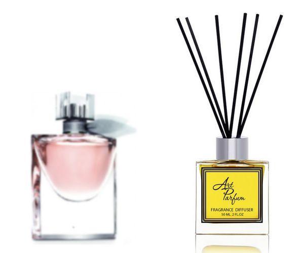 Ароматный диффузор для дома 50 мл, с  парфюмерным ароматом La Vie Est Belle( Ля Ви э Бэль Ланком )