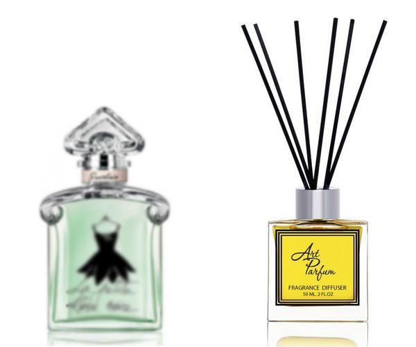 Ароматный диффузор для дома 50 мл, с  парфюмерным ароматом La Petite Robe Noire Eau Fraiche( Ла Петите Робе Ноире Еау Фраиче Герлен )