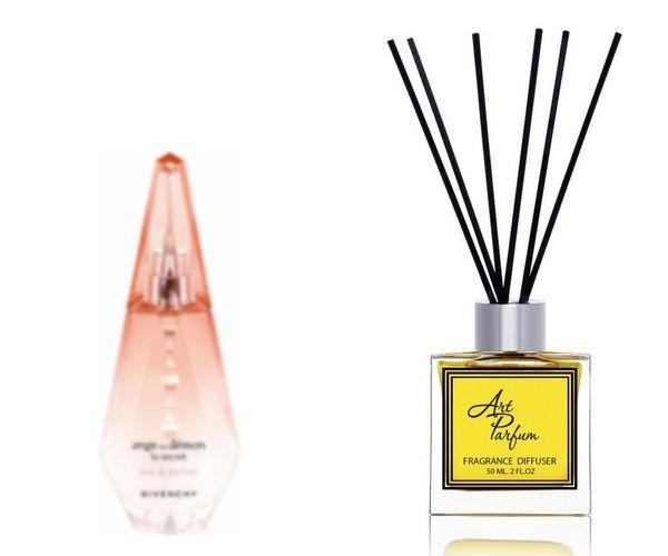 Ароматный диффузор для дома 50 мл, с  парфюмерным ароматом Ange ou Demon le Secret( Андже у Демон Ле Секрет Живанши )