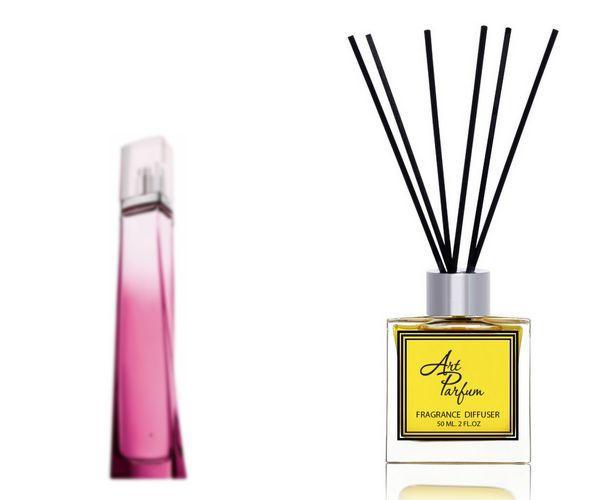 Ароматный диффузор для дома 50 мл, с  парфюмерным ароматом Very Irresistible( Вери Иррэзистбл Живанши )