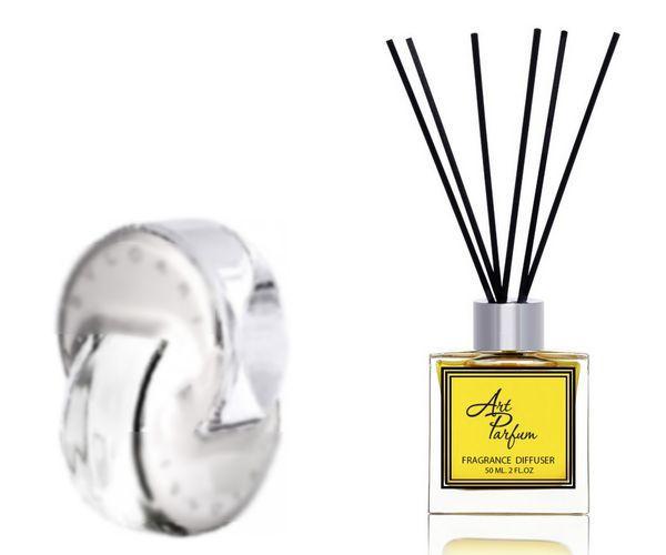 Ароматный диффузор для дома 50 мл, с известным парфюмерным ароматом Omnia Crystalline Bvlgari / Омния Кристалин Булгари