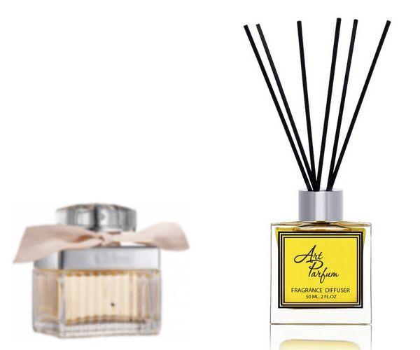 Ароматный диффузор для дома 50 мл, с  парфюмерным ароматом  ( Хлое Хлое )