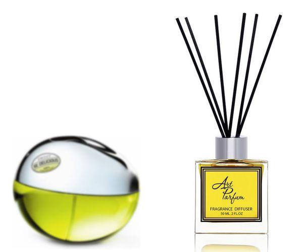 Ароматный диффузор для дома 50 мл, с  парфюмерным ароматом DKNY Be Delicious( Ди Ке Эн Вай Би Дэлишес Донна Каран )