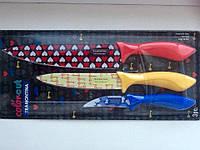 Набор 3 ножей Tramontina Colorcut, фото 1