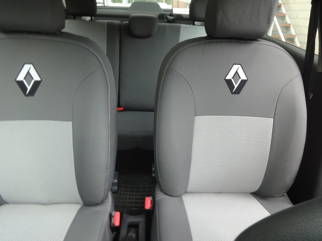 Чехлы модельные Renault Logan MCV 7 мест (раздельный) с 2009-13 г Elegant Classic №194