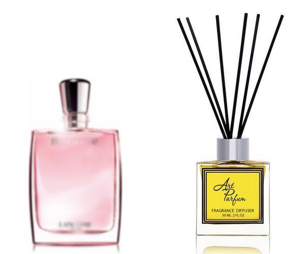 Ароматный диффузор для дома 50 мл, с известным парфюмерным ароматом Miracle Lancome / Миракл Ланком