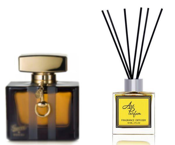 Ароматный диффузор для дома 50 мл, с известным парфюмерным ароматом Gucci by Gucci Gucci / Гуччи бай Гуччи Гуччи