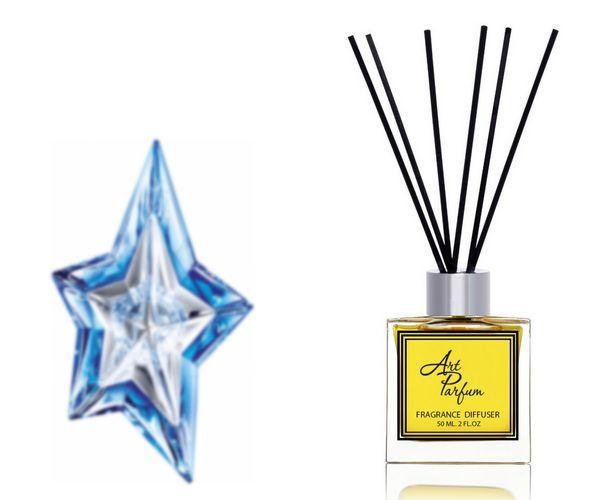 Ароматный диффузор для дома 50 мл, с  парфюмерным ароматом Angel( Андже Тьери Мюглер )