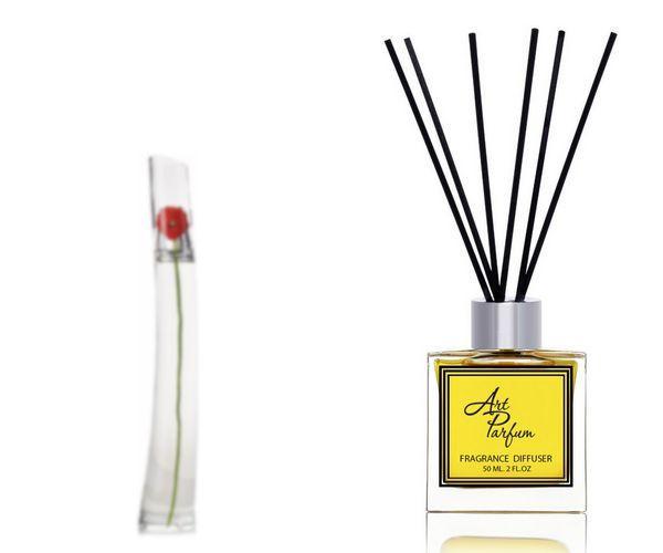 Ароматный диффузор для дома 50 мл, с  парфюмерным ароматом Flower by Kenzo( Флавер Бай Кензо Кензо )