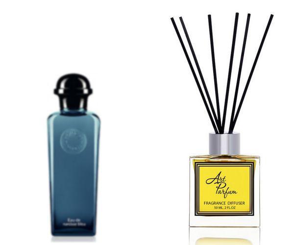 Ароматный диффузор для дома 50 мл, с  парфюмерным ароматом Eau de Narcisse Bleu( У дэ Нарцис Блю Эрме )