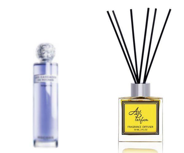 Ароматный диффузор для дома 50 мл, с  парфюмерным ароматом Les Cascades de Rochas Songe d'Iris( Ле Каскадэс дэ Роша Сонг д'Ирис Роша )