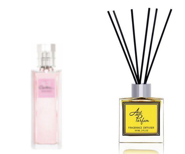 Ароматный диффузор для дома 50 мл, с известным парфюмерным ароматом Hot Couture Givenchy / Хот Кутюр Живанши