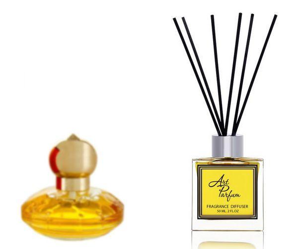 Ароматный диффузор для дома 50 мл, с известным парфюмерным ароматом Casmir Chopard / Кашемир Шопар