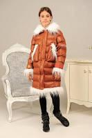 Модельная зимняя детская куртка, фото 1