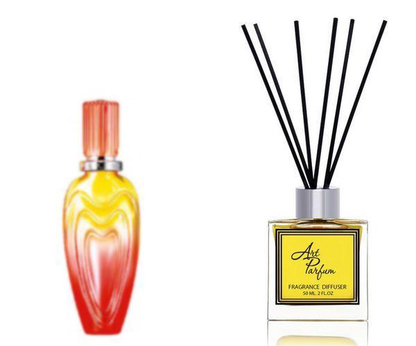 Ароматный диффузор для дома 50 мл, с известным парфюмерным ароматом Sunset Heat  / Сансет Хит Эскада