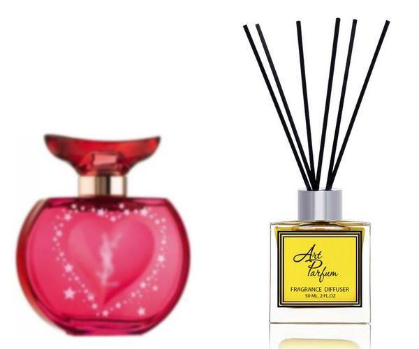 Ароматный диффузор для дома 50 мл, с  парфюмерным ароматом Young Sexy Lovely( Янг Секси Лавли Ив Сэн Лоран )