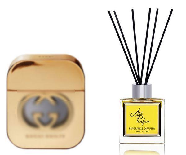 Ароматный диффузор для дома 50 мл, с  парфюмерным ароматом Guilty( Гилти Гучи )