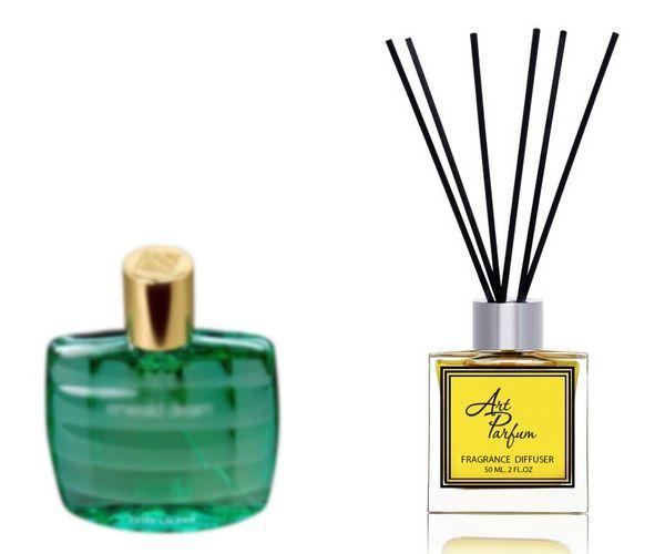 Ароматный диффузор для дома 50 мл, с  парфюмерным ароматом Emerald Dream( Эмеральд Дрим Эсти Лаудер )