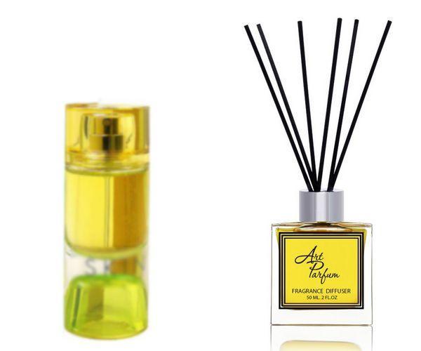 Ароматный диффузор для дома 50 мл, с  парфюмерным ароматом Skin( Труссарди Скин )