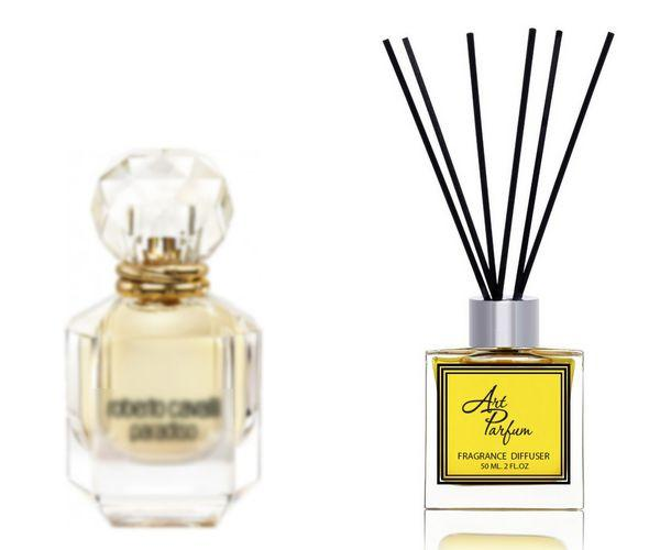 Ароматный диффузор для дома 50 мл, с  парфюмерным ароматом Paradiso( Роберто Кавалли Парадис )