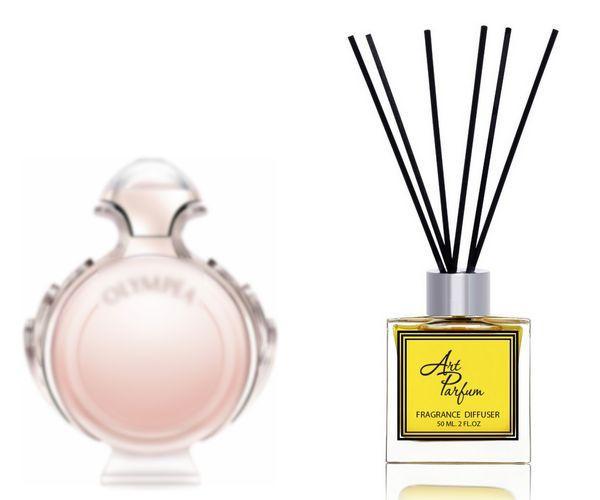 Ароматный диффузор для дома 50 мл, с  парфюмерным ароматом Olympea( Олимпия Пако Рабанне )