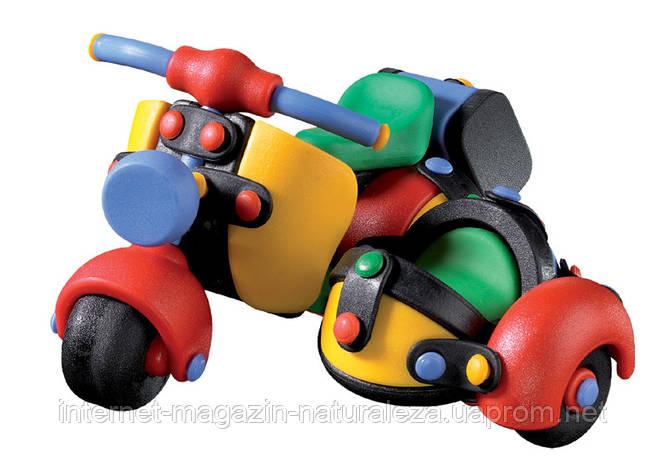 Игрушка для мальчика Скутер с коляской  Mic-o-Mic, фото 2