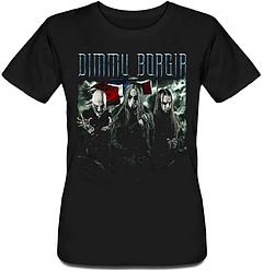 Женская футболка Dimmu Borgir - Band (чёрная)
