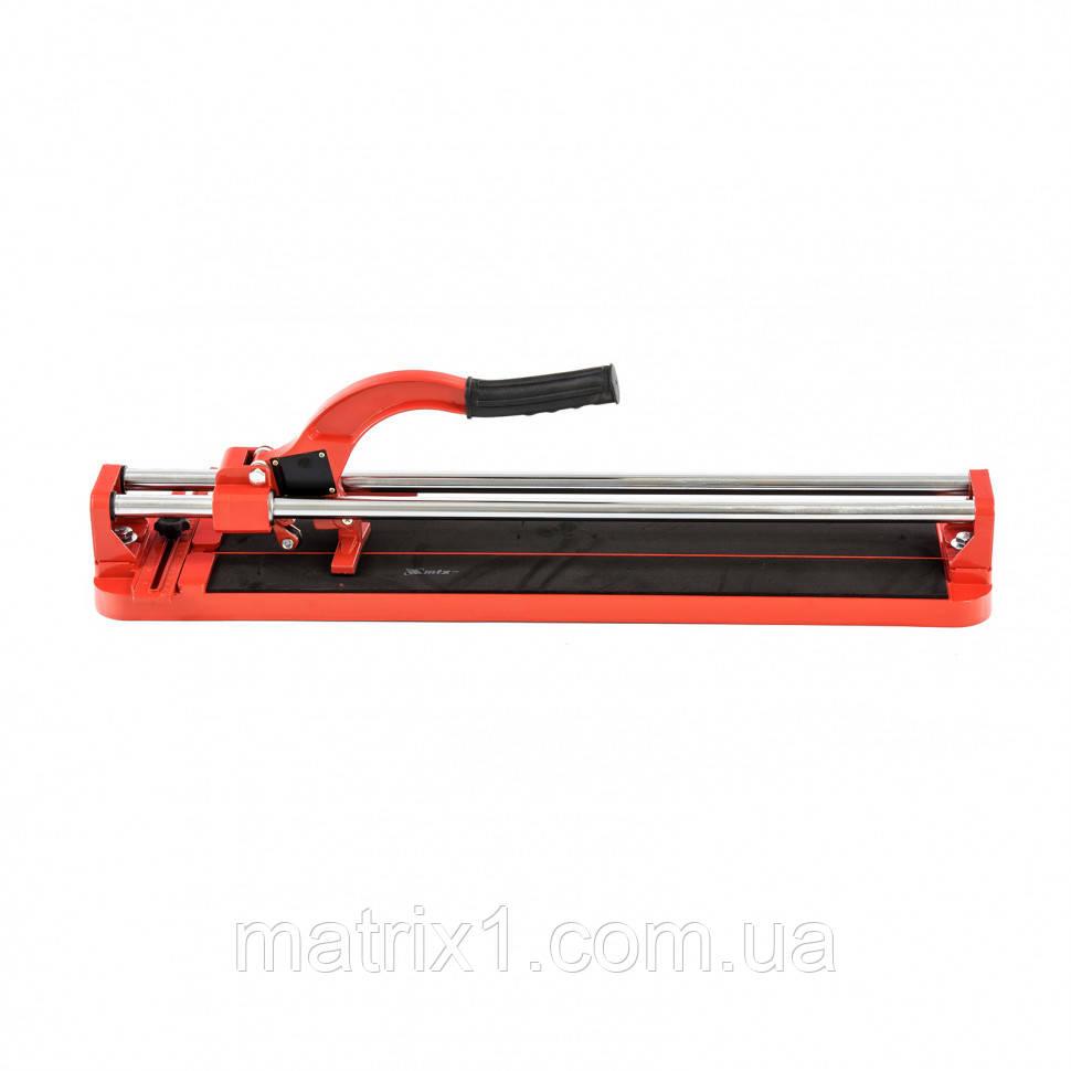 Плиткорез 600 х 16 мм, литая станина, направляющая с подшипником, усиленная ручка// MTX