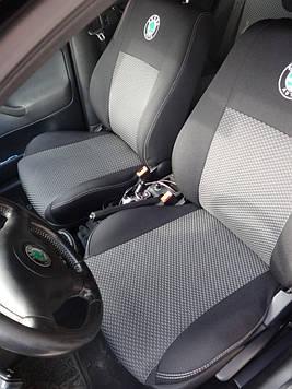 Чехлы модельные Skoda Fabia c 2007-2011 (5J) Hatch (раздельная)Elegant Classic №067