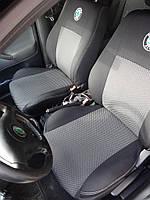 Чехлы модельные Skoda Fabia с 2001-07 Sedan (раздельная) Elegant Classic №322
