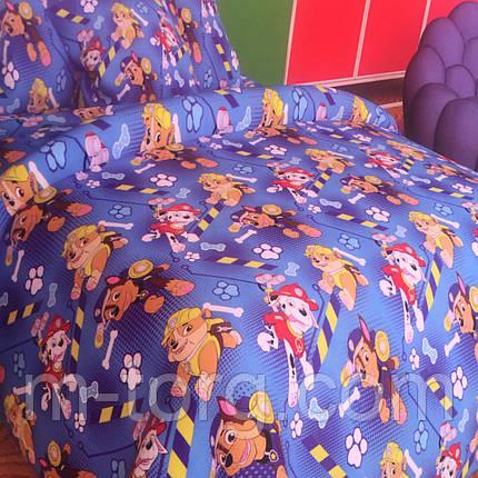 Комплект постельного белья полуторный 150/220 с детским рисунком,одна нав-ка 70/70,ткань поплин 100% хлопок, фото 2