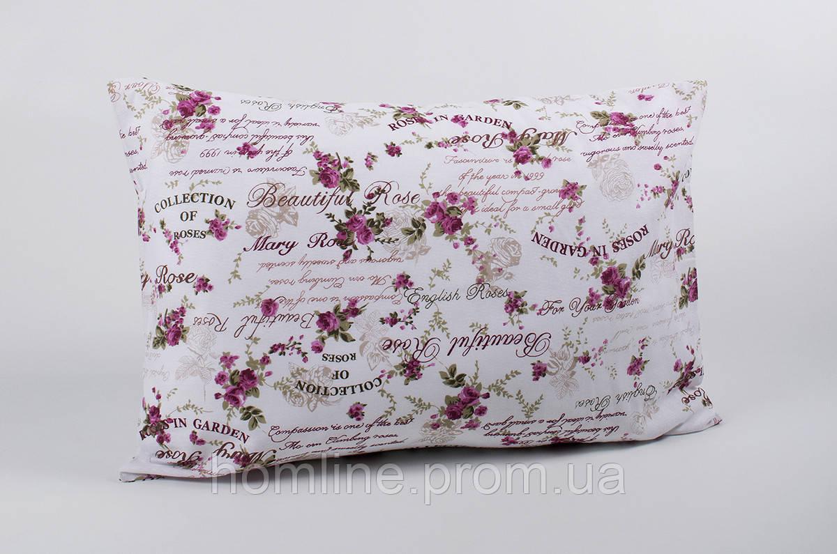Наволочки Lotus ранфорс Mary розовый 50*70 (2 шт)