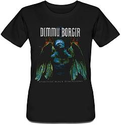 Женская футболка Dimmu Borgir - Spiritual Black Dimension (чёрная)