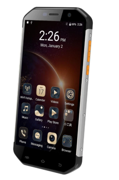 Защищенный противоударный неубиваемый смартфон E & L S60 - IP68, 3/64 Gb, MTK6753,3000mAh