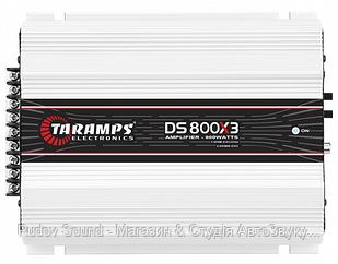 3-канальний підсилювач Taramps DS 800x3 1Ohms