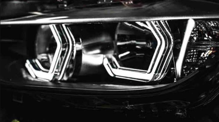 """Кільця підсвічування """"ангельські глазки"""" Iconic Angel Eyes універсальні для BMW, Benz, Subaru."""