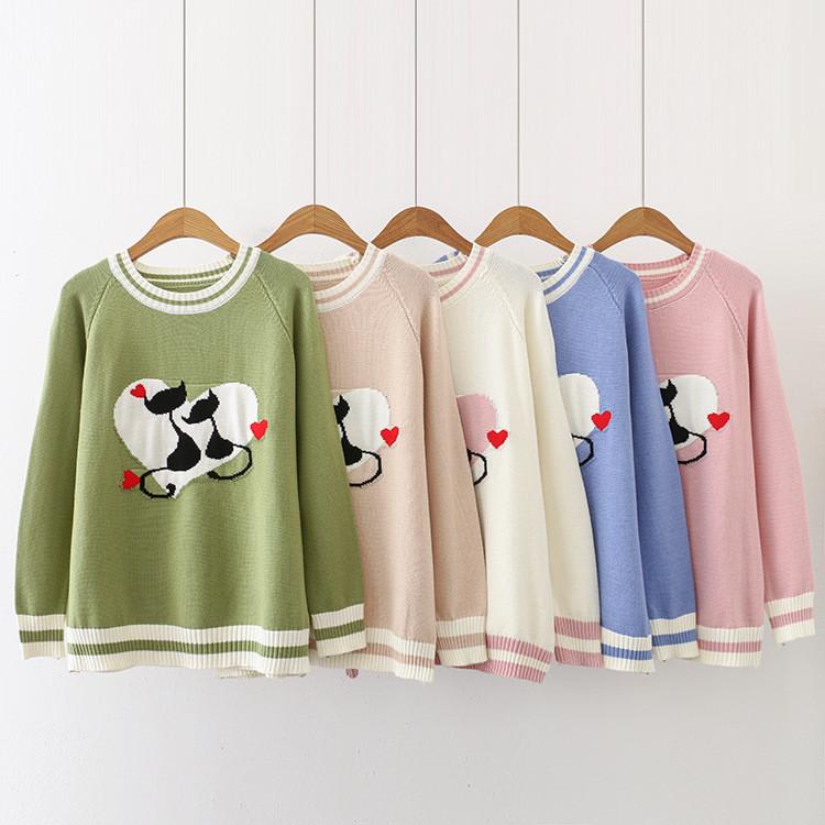 Милый свитер на девочку 46-50 (в расцветках)