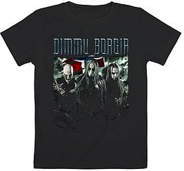 Детская футболка Dimmu Borgir - Band (чёрная)