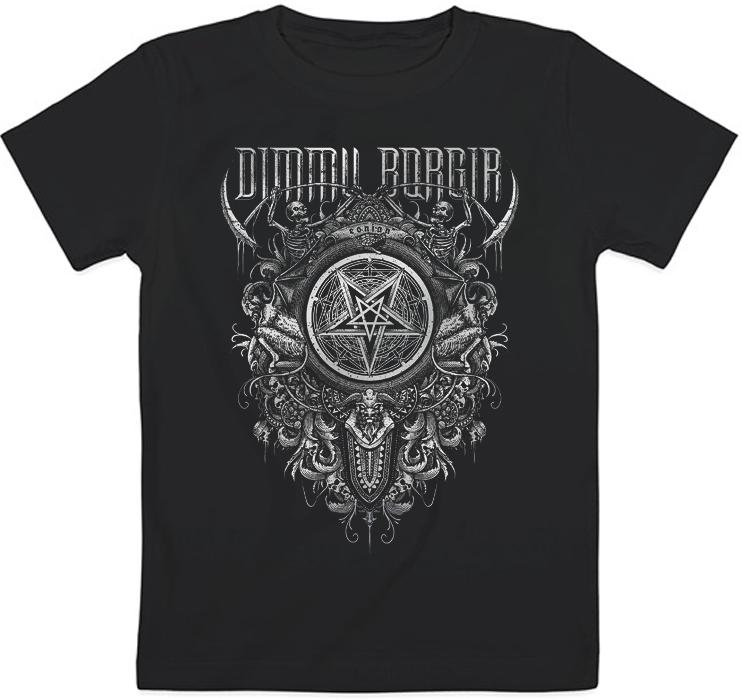 Детская футболка Dimmu Borgir - Eonian Pentagram (чёрная)
