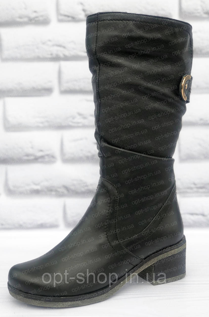 Женские зимние  сапоги на полную ногу