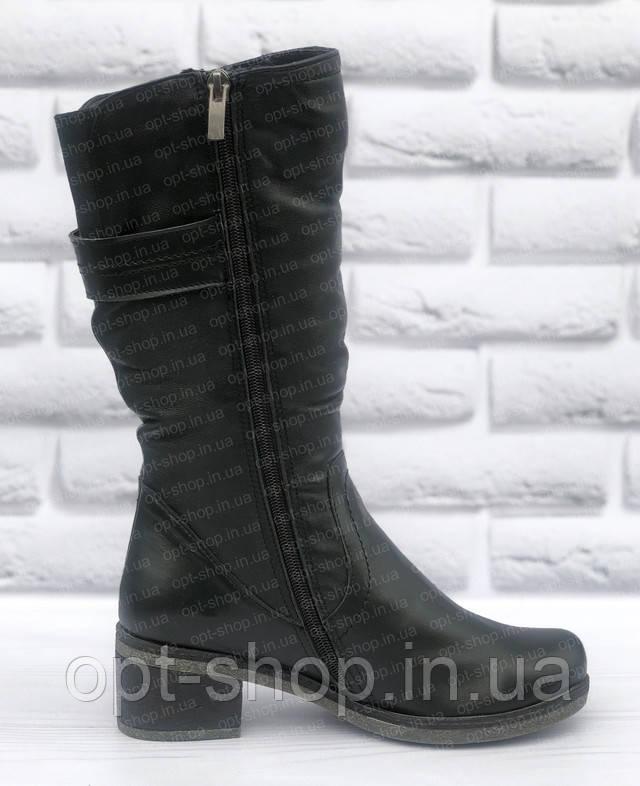 Сапоги женские зимние на полную ногу
