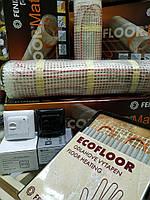 Мат Fenix 3 m2 електричний нагрівальний для підігріву підлоги під плитку, фото 1
