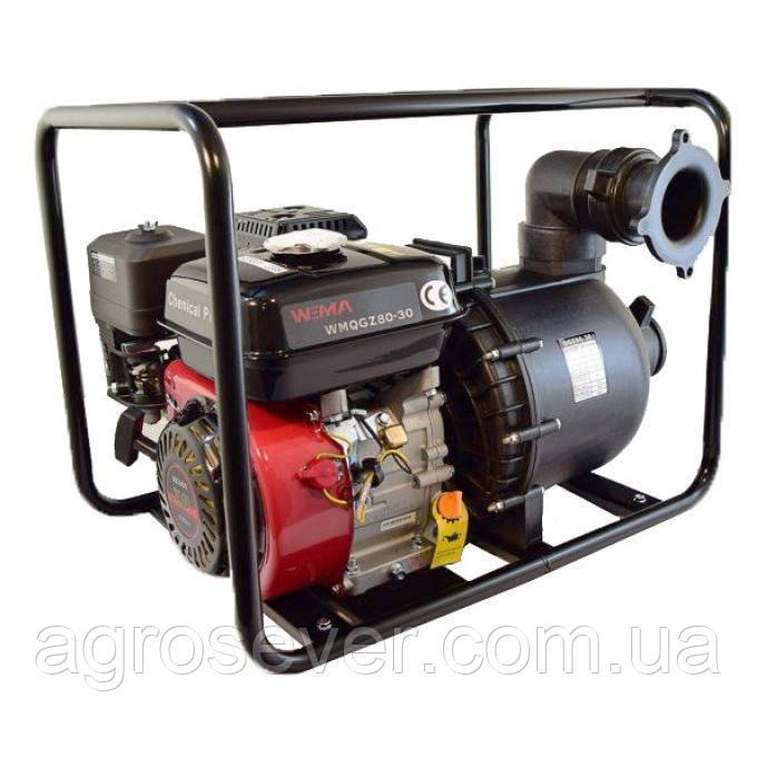 Мотопомпа Weima WM Chemical PUMP 80-30 (бензин, патрубок 80мм, 60куб/ч)
