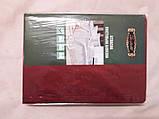 Постельное белье шелковый атлас Burgundy, фото 3
