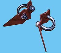 Опора трубы брызговика свариваемая M12-L HYVA 092 14 030L
